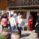 Besuch des Kirchenchor Menà