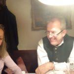 Besuch Mariateresa und Sergio